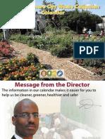2010 Baltimore City Waste Collection Calendar