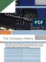 Lehman Brother Crash