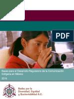 Marco Jurídico de la Comunicación Indígena en México