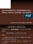 management performanta