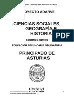 Ciencias Sociales Geografia e Historia 2 Eso Principado de Asturias Adarve