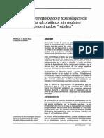 Comtrol Bromatologico y Toxicologico