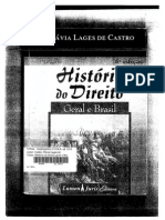 Livro 1 - CASTRO, F. L. (Hist. Do Direito)