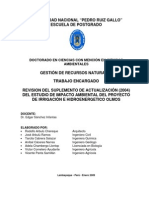 Revisión Del EIA de OLMOS 12-02-09