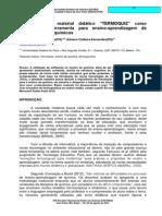 """Elaboração do material didático """"TERMOQUIZ"""" como proposta de ferramenta para ensino-aprendizagem de conceitos Termoquímicos"""