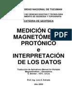 Manual Magnetometro Protonico