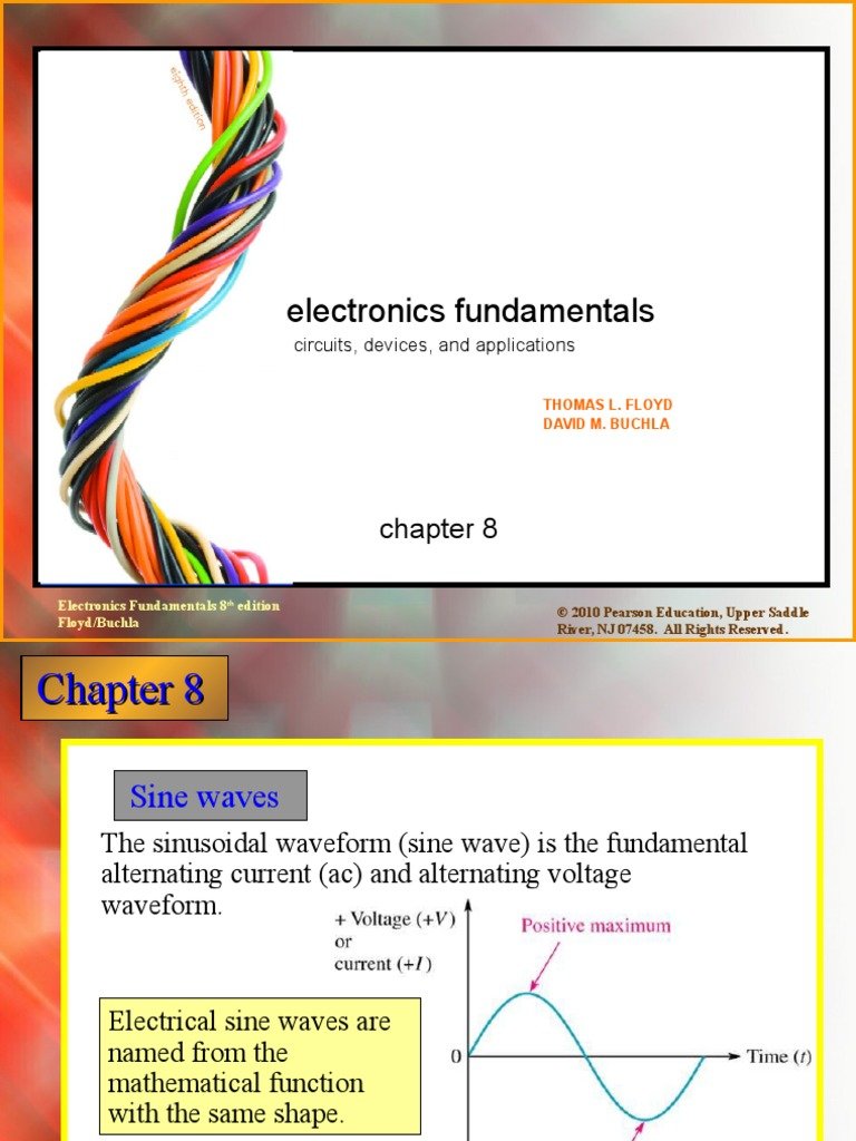 Chap08 Root Mean Square Amplitude This Kind Of Electricity Is Known As Alternating Current Ac Figure