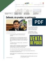 Rodrigo Medina Defiende, Sin Pruebas, Su Patrimonio