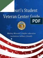 missouris student veteran center guide