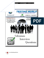 Selenium Java Interview Questions