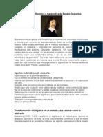 Concepción Filosófica y Matemática de Renato Descartes