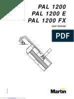 Martin PAL 1200 Manual