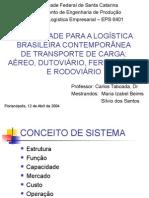 ECV5119 - Logística Do Transporte de Cargas