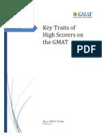 Key Traits of High Scorers