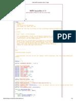 Online MIPS Assembler _ Alan J