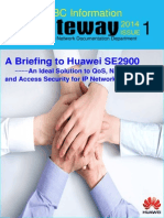SBC Information Gateway 2014 Issue 01 (a Briefing to Huawei SE2900)