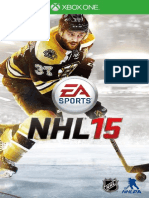 NHL 2015 Manual (XBOXONE & XBOX360)