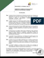 2015_Regulacion ARCONEL 01 - Punto de Entrega