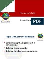 T6 Solving Equations