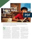 Hacia La Nota Más Alta-  Comenta Santiago Cueto en América Economía