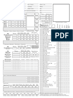 Dungeons&Dragons 3.5e Charahcter Record Sheet (A4)