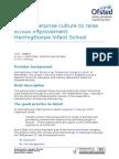 Herringthorpe Infant School - Good Practice Example
