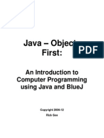 Java Objects First