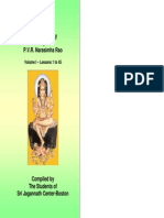 Astrology Lessons PVR Narasimha Rao