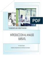 ANALISIS BURSATIL