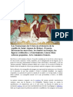 Románico_Tentaciones de Cristo en El Desiaerto_Capilla de Saint Aignan de Brinay