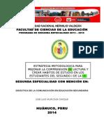 Pre Informe Yauricasa Matriz - Copia