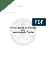 Manual Basico de Autocad Para Ingenieria de Plantas