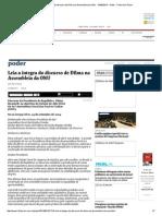 Leia a Íntegra Do Discurso de Dilma Na Assembleia Da ONU - 24-09-2014 - Poder - Folha de S