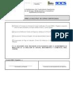 Requisitos Copias Certificadas