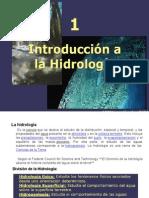 Presentación No.1 Hidrologia Aplicada