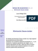 Elim Gauss Jord