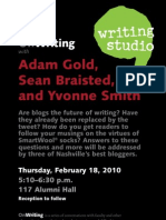 OnWriting Poster