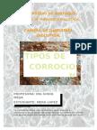 Tipos de Corrosion - Tecnologia de Materiales