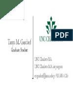 business card draft