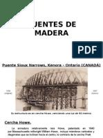 Estructura Madera Puente
