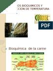 Cambios Bioquimicos y Reduccion de Temperatura