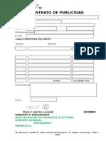 Contrato Para Auspicios Electrum