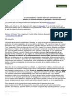 SQ. Efecto Placebo, Novedades Biologicas Clinicas Y Eticas