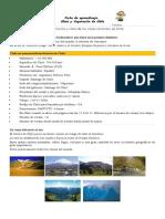 Ficha Clima y Vegetacion de Chile