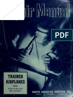 North American T-6 Structural Repair Manual