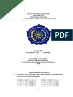Tugas Analisis Organisasi Industri