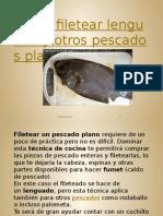 Cómo Filetear Lenguado y Otros Pescados Planos