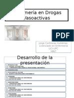Drogas Vasoactivas JC
