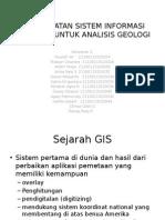 Pemanfaatan Sistem Informasi Geografi Untuk Analisis Geologi