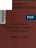 1914 Incandescent Electric Lamps, And Their Application